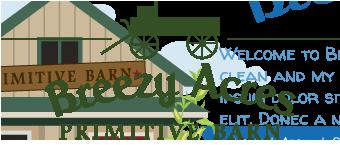 Breezy Acres Primitive Barn