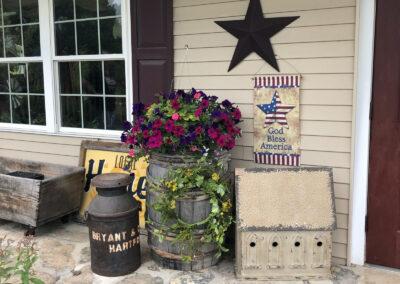 Vermont Porch Decor