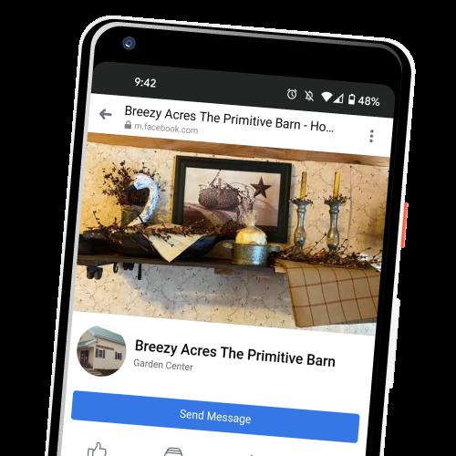 Follow Breezy Acres on Facebook