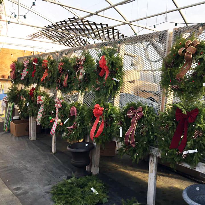 Handmade Wreaths at Breezy Acres